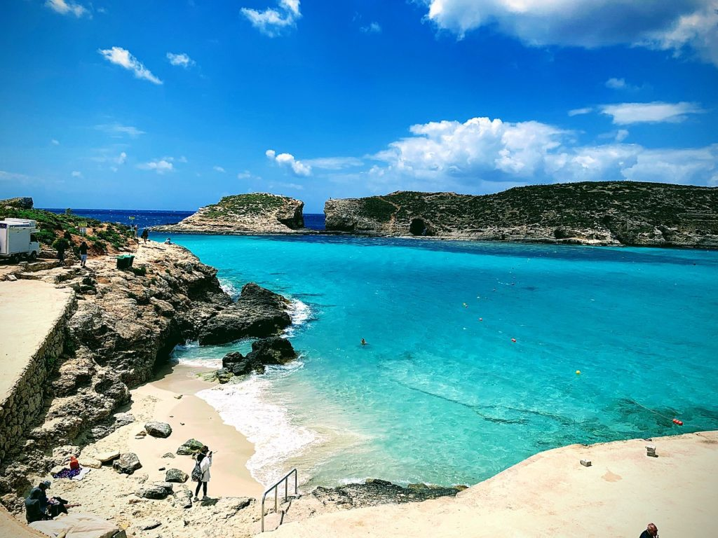 Iconic Places Worth To See In Malta: The Blue Lagoon,Malta